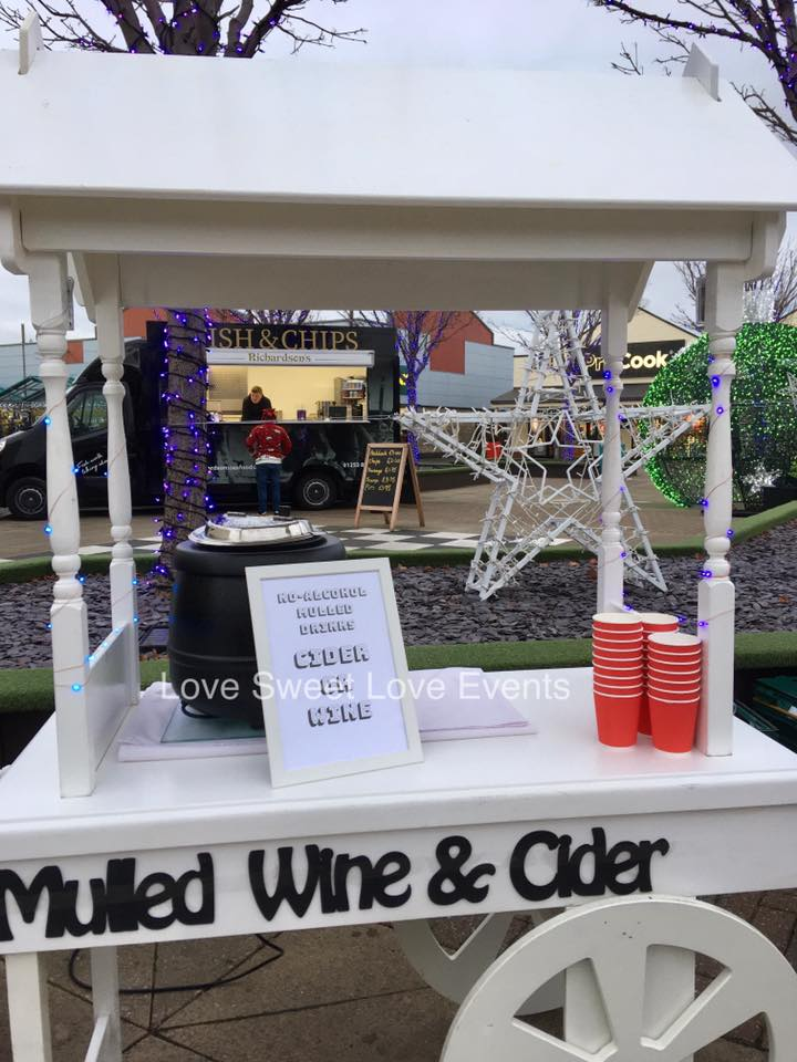Mulled Wine and Cider Cart