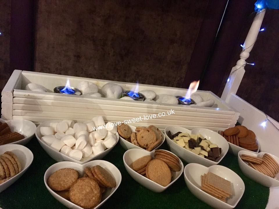 Yorkshire S'Mores Cart
