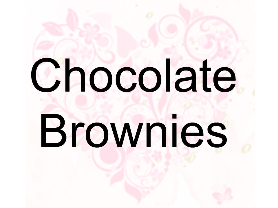 Chcolate Brownies